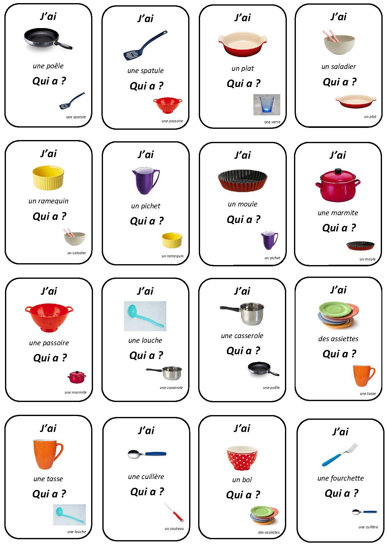 Top Les Ustensiles De La Cuisine - Lessons - Tes Teach AQ68