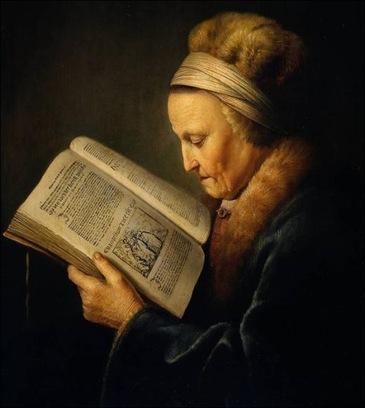 Femmes lisant-peintures