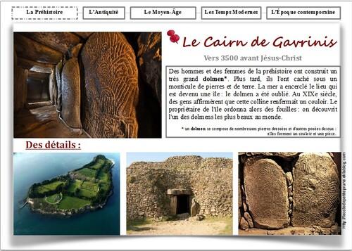 Le Cairn de Gavrinis
