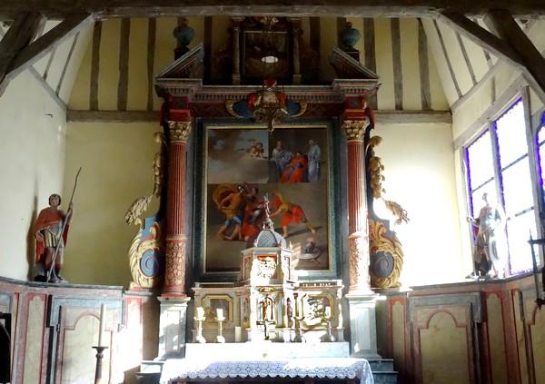 L'église à pans de bois Saint-Julien et Saint-Blaise de Longsols (département de l'Aube)