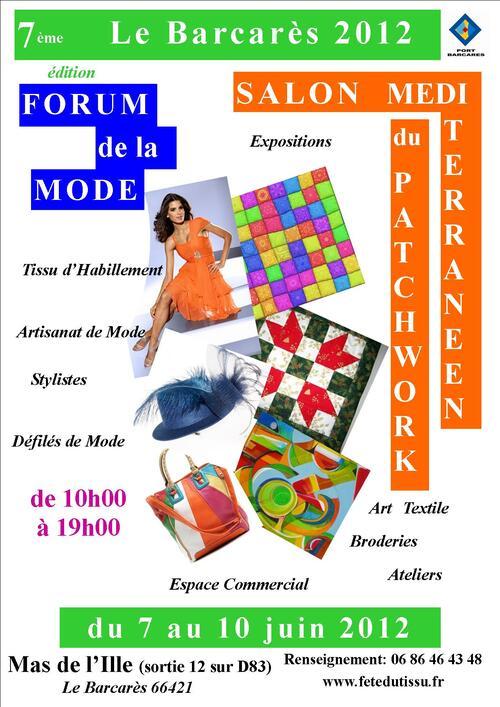 Affiche Barcarès 2012