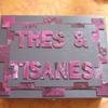 cartonnage: la boîte à tisanes de Cécile