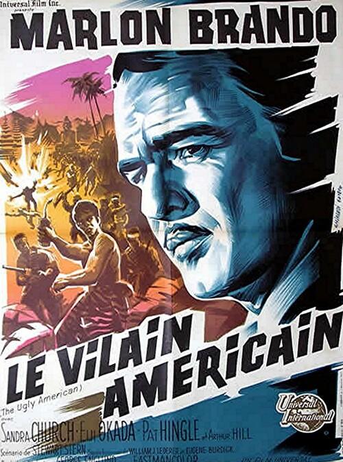LE VILAIN AMERICAIN - BOX OFFICE MARLON BRANDO 1963