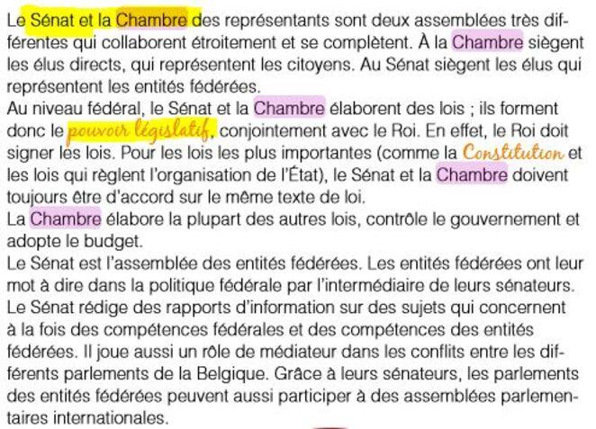 La procédure législative belge