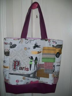 "Sac fourre-tout ""Paris"""