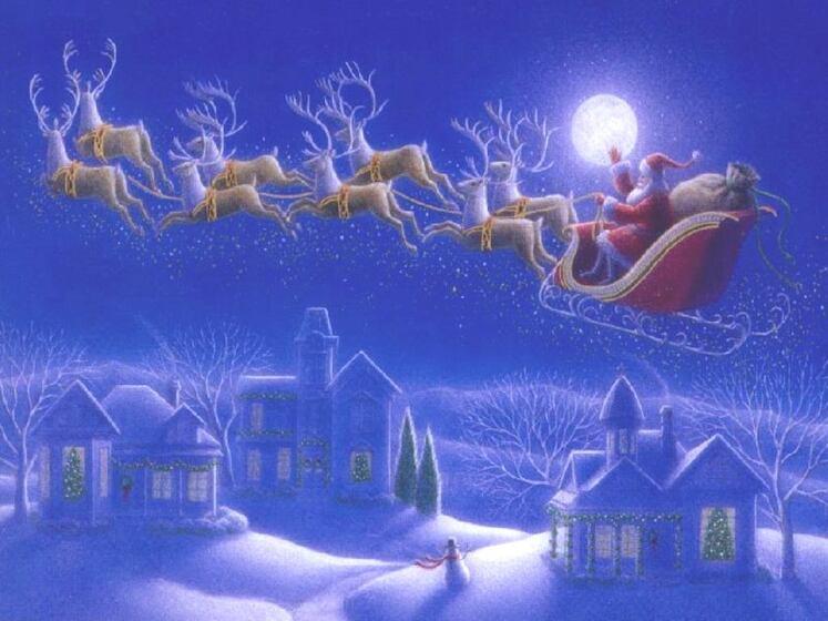 Belle nuit de cadeaux car le Pére Noël arrive .......Joyeux noël à toutes et tous