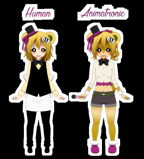 [Kisekae] Louise Fazebear (human's design remake + making of animatronic design)