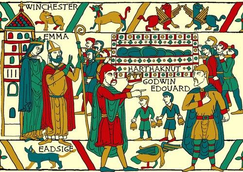 Histoire d'Emma la Normande (4)