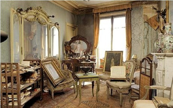 Vue de l'appartement de Madame de Florian