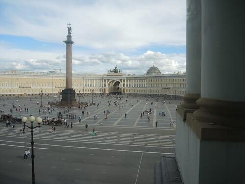 Croisière Russie- N°2- St Petersbourg- jour 1 - L'Ermitage