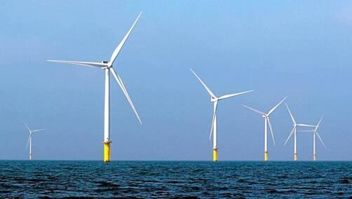 L'éolien offshore (en mer) est l'énergie marine la plus utilisée dans le monde.