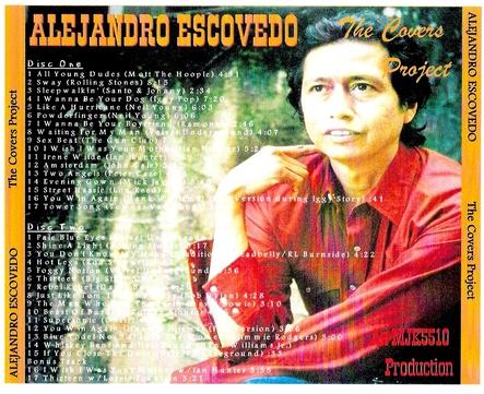 Le  choix des lecteurs # 66 : Alejandro Escovedo - The Covers Project (compilation)