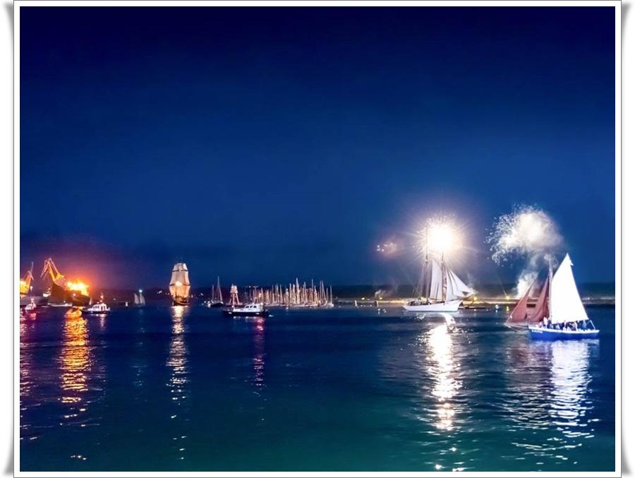 Quand la nuit tombe sur Brest