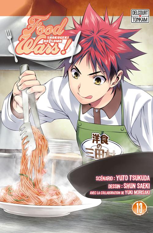 Food wars ! - Tome 13 - Yuto Tsukuda & Shun Saeki & Yuki Morisaki