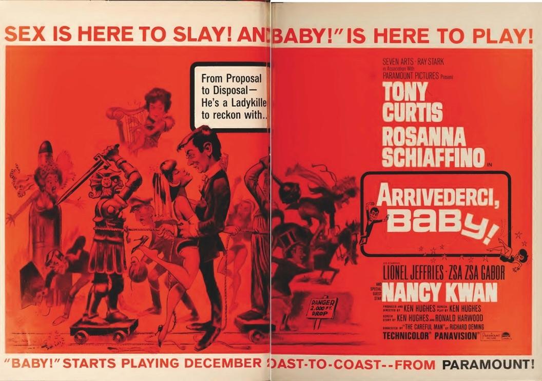 ARRIVEDERCI BABY box office usa 1966