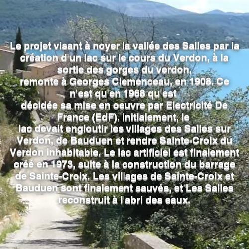 Dessin et peinture - vidéo 3542 : Peindre un paysage de Provence (France) : le lac de sainte croix - aquarelle.