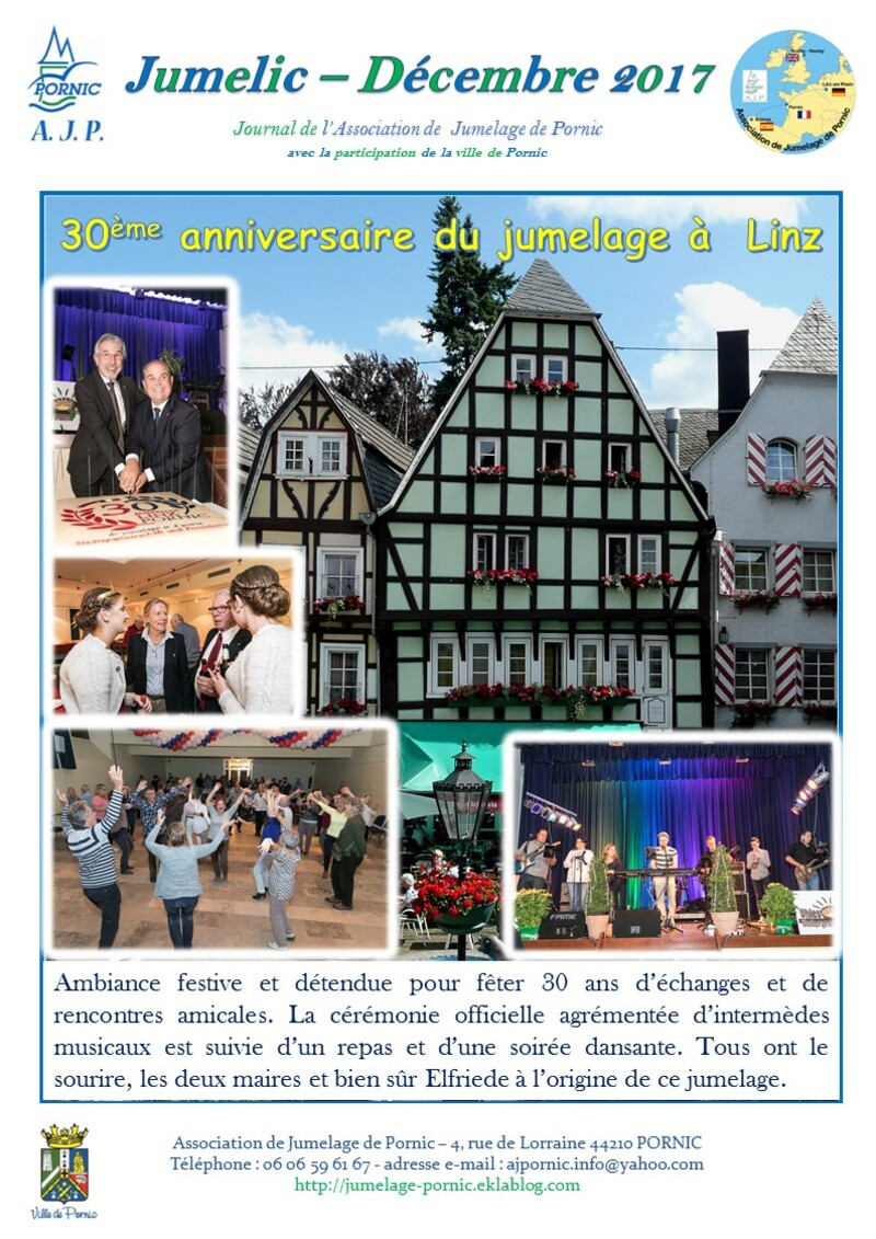 30ème anniversaire à Linz