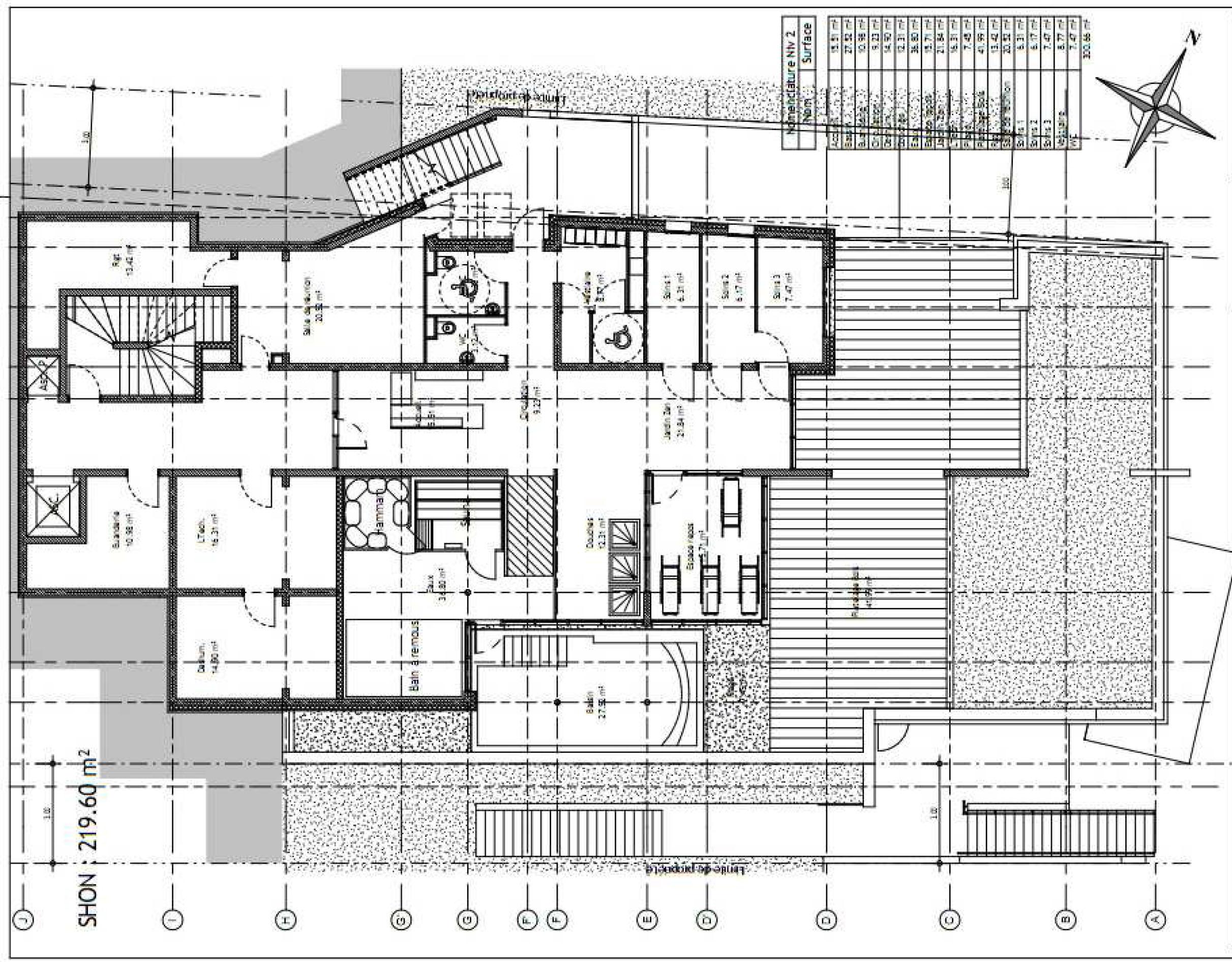 3 exemples de plan d u0026 39 un hotel 3  u00e9toiles