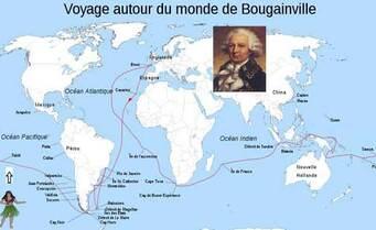 Le Voyage autour du monde de Bougainville