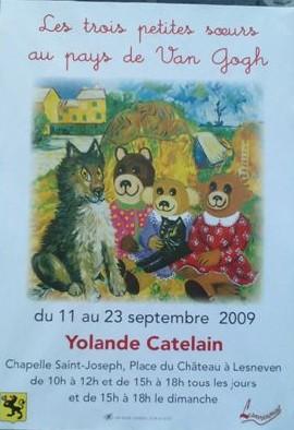 Exposition de Yolande Catelain