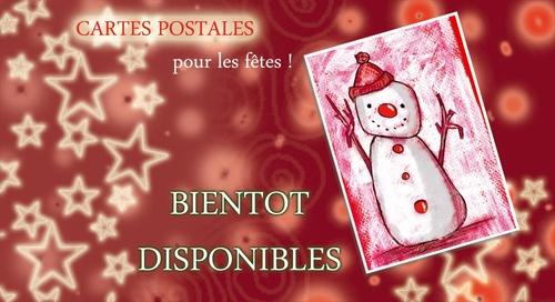 Nouveaux modèles de cartes pour l'hiver 2011 !