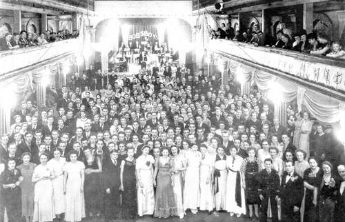 Le bal de la coiffure salle de l'Elysée en 1939