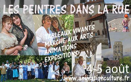 Les Peintres dans la Rue - 3 & 4 aout