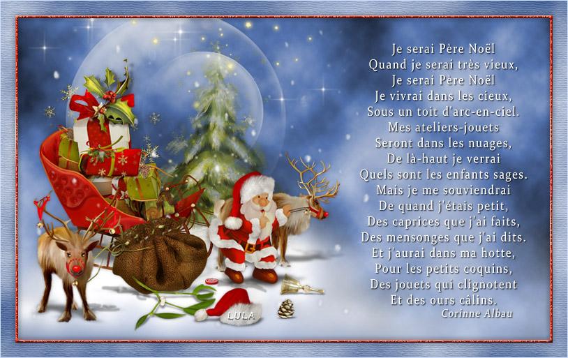 Thème Noël avec Photoshop