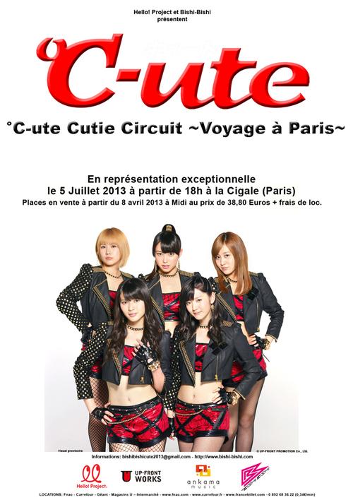 °C-ute - °C-ute Cutie Circuit ~Voyage à Paris~