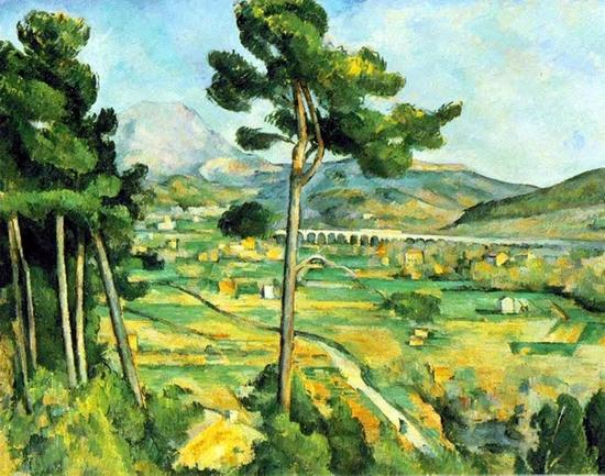 Paul Cézanne, La montagne Sainte-Victoire
