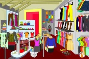 Dress shop - Hidden objects