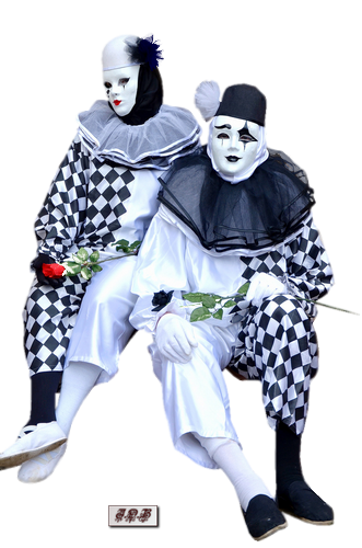 Tubes Pierrot et Colombine