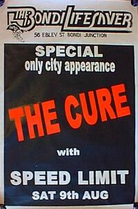 1980.08.09-The Cure-Sydney-Bondi Lifesaver