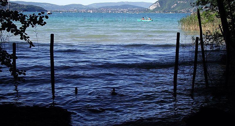 Le lac à St Jorioz