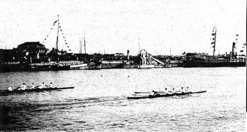 L'aviron pratiqué dans les bassins Carnot et la Batellerie