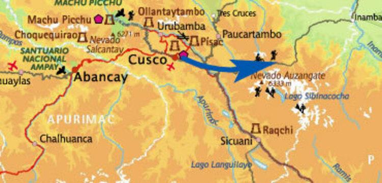 De Cusco à Tinki