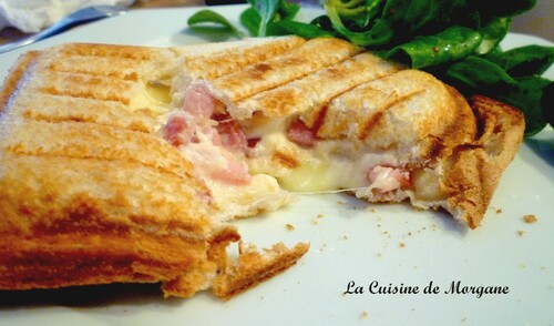 Croques salés 2 : croque savoyard + croque mozza/pesto