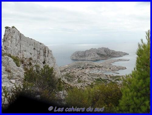 Calanques, Le rocher st Michel
