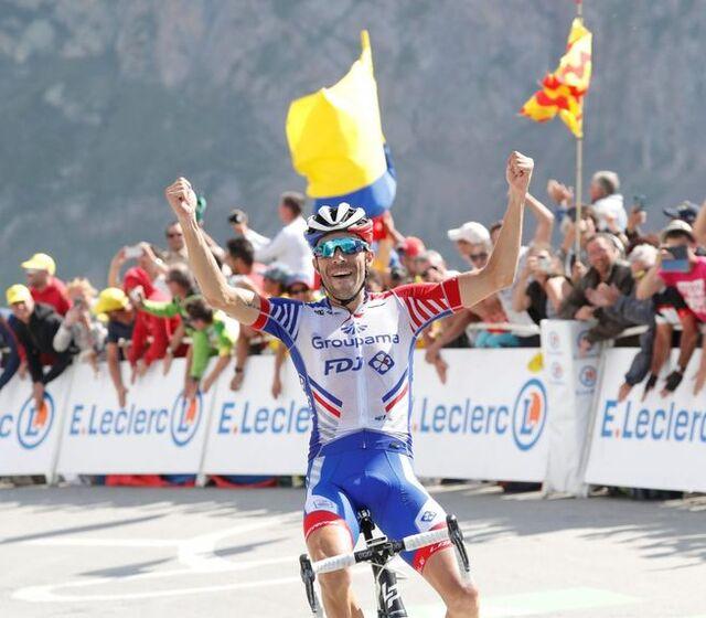 Le tour de France prend fin , merci à nos deux français  on a vibré jusqu'au Alpes .