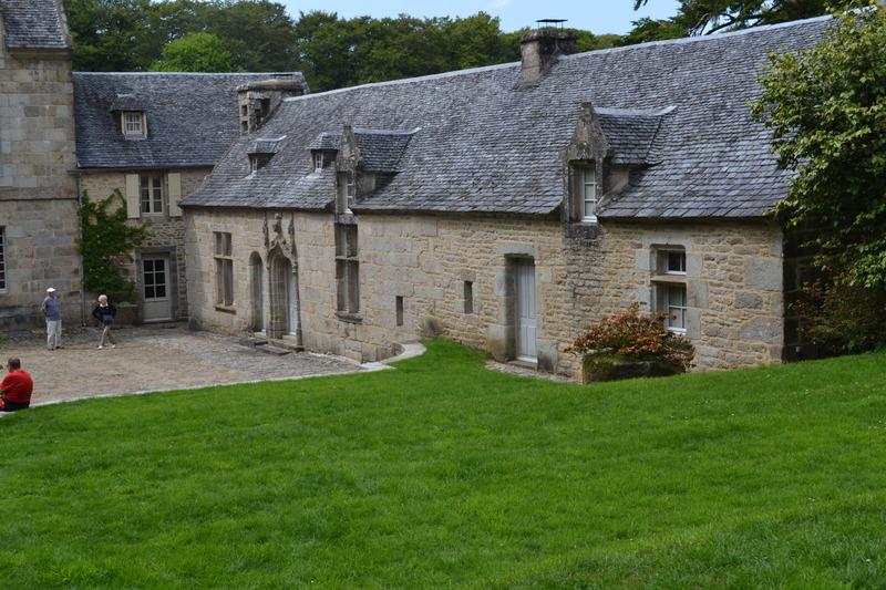 Visite  au chateau  de Penhoat