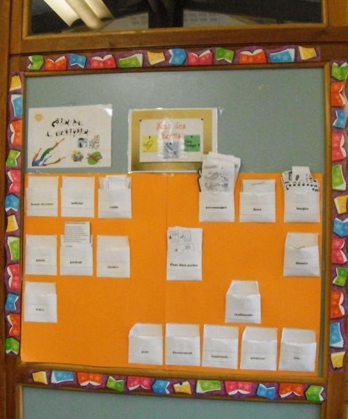 la classe en couleur - classroom capers
