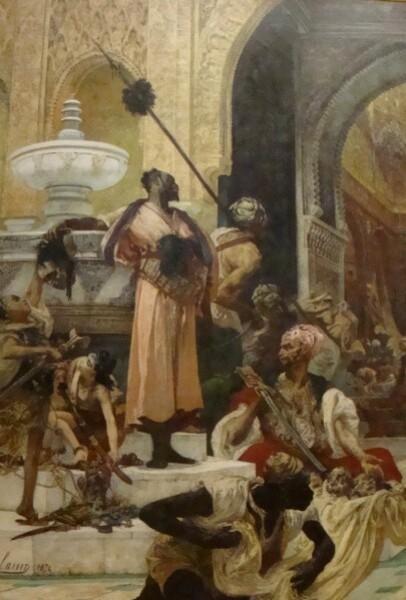 Le massacre des Abencérages (Georges Clairain) 1874