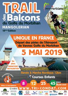 Trail des Balcons du Golfe du Morbihan - Dimanche 5 mai 2019