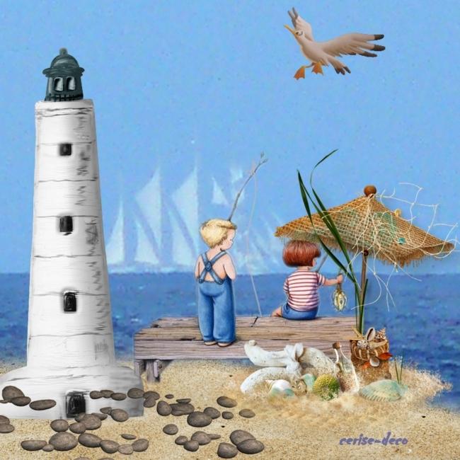 vos créations 5 avec le deuxième cluster vacances à la mer en gif