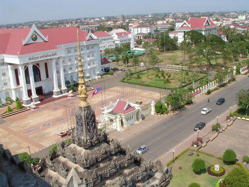 Dernier  jour à Vientiane