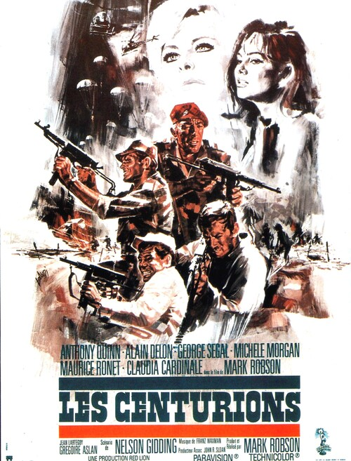 LES CENTURIONS - BOX OFFICE ALAIN DELON 1966