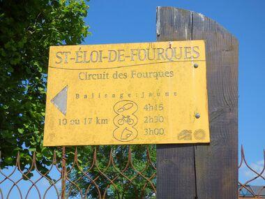Le circuit des Fourques