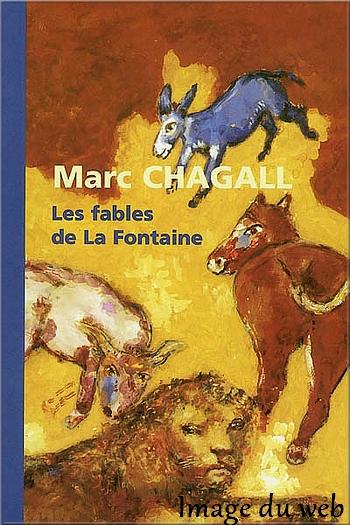 Exposition Marc Chagall à Roubaix - Les fables de La Fontaine (1926)