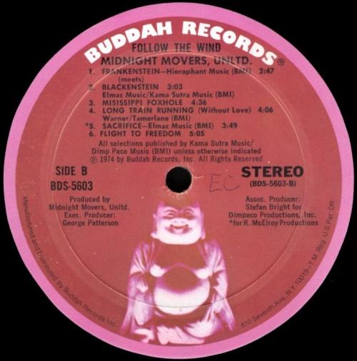 "1974 : Album "" Follow The Wind "" Buddah Records BDS 5603 [ US ]"