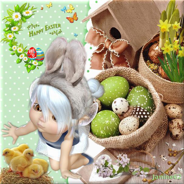 Joyeuses Pâques d' ♥Athos & Cheyenne ♥